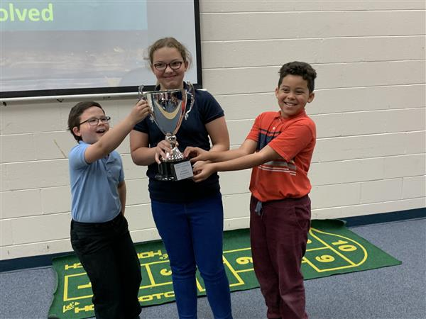 Imagine Math Cup Winner CES!!   Our Tiger cubs completed 1801 lessons and correctly solved 47,400 math problems.  Way to go!!