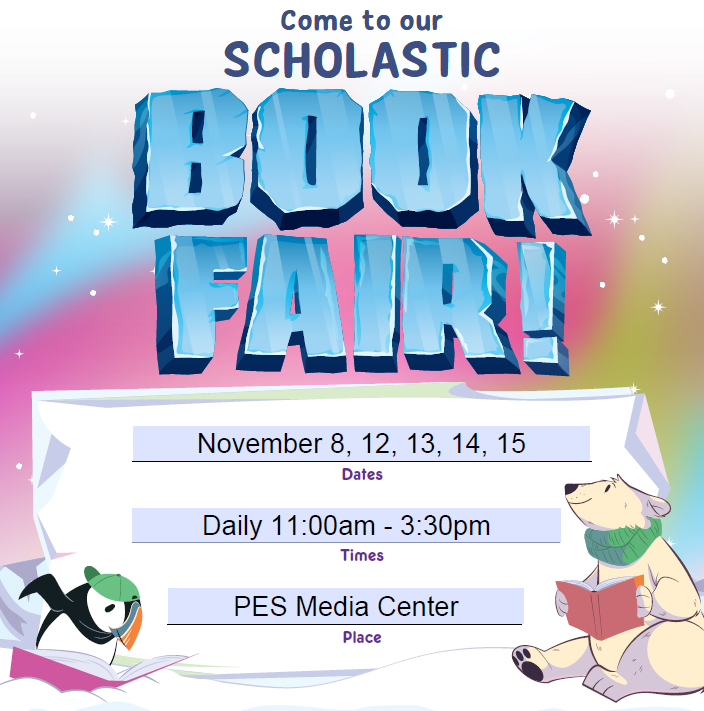 PES Book Fair Is Coming!