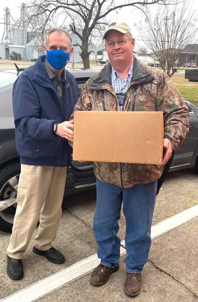 EIC Donates Masks to WCS