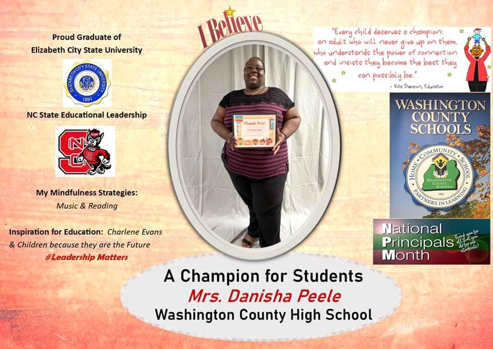 Mrs. Danisha Peele - Washington County High School Principal