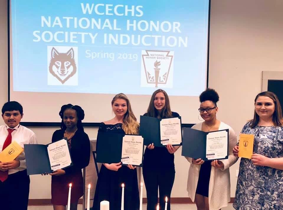 WCECHS Honor Society Induction